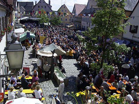 Marktplatz Gräfenberg - Bürgerfest 2004