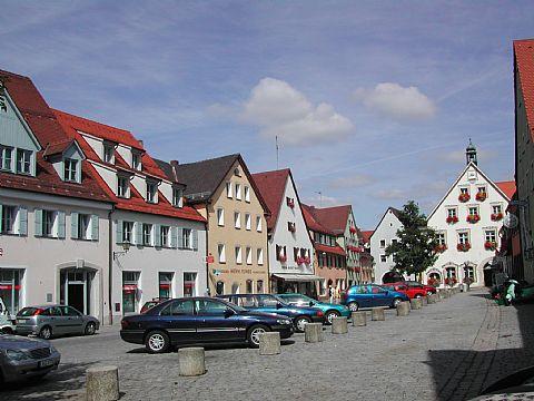Marktplatz Gräfenberg - Südansicht