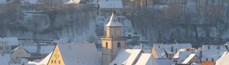 Winterbild Gräfenberg