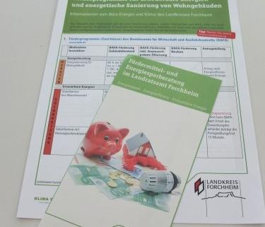 Foto Flyer Förderprogramme Landratsamt Forchheim