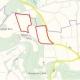Lageplan zur Flächennutzungsplan-Änderung, Änderung PV-Anlage Walkersbrunn II und III